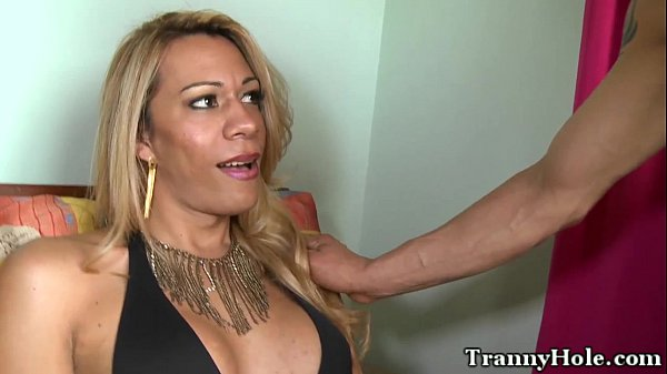 Shemale tranny pounded in backdoor